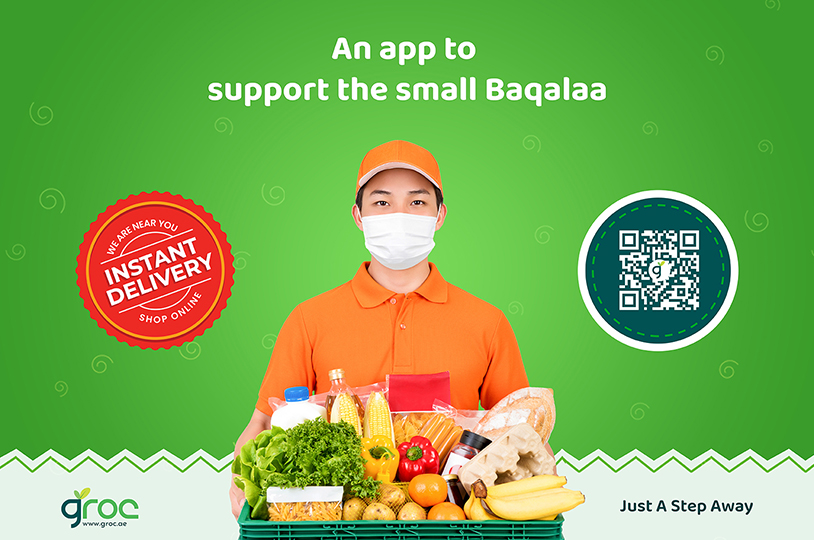 Groc App | Grocery Shopping App Developed by Pentagon Information Technology