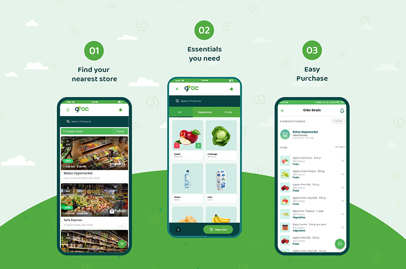 Know How Groc App helps you | Groc App by Pentagon